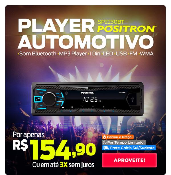 Player Automotivo Pósitron