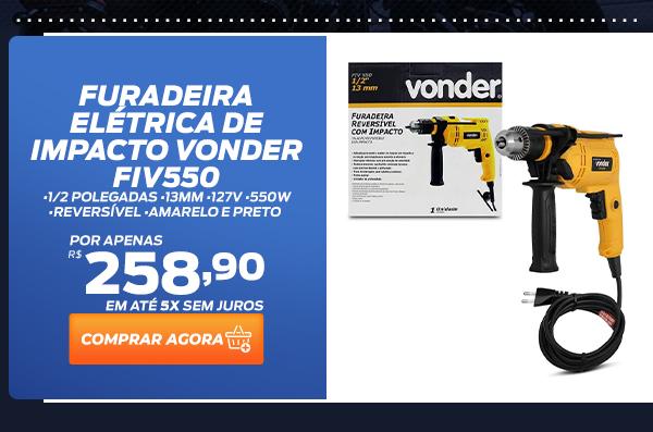 Furadeira Elétrica de Impacto Vonder FIV550