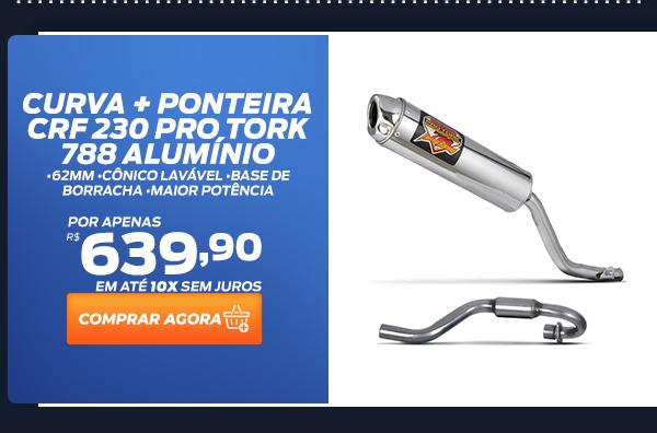 Curva + Ponteira CRF 230 Pro Tork 788 Alumínio