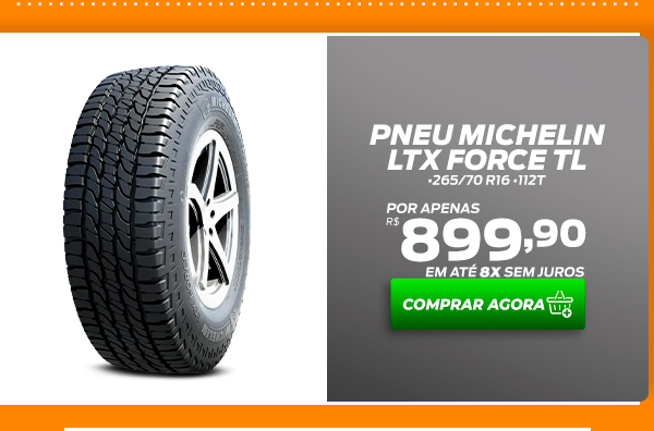 Pneu Michelin Ltx Force Tl